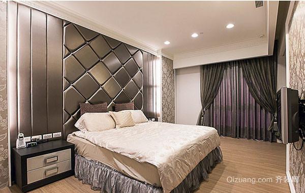 120平米精致简约时尚卧室装修效果图