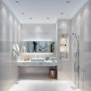 经典的小户型简欧卫生间装修效果图欣赏