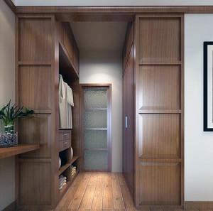 2016现代大户型精美的室内衣柜设计效果图