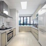 现代欧式大户型厨房装修设计效果图鉴赏