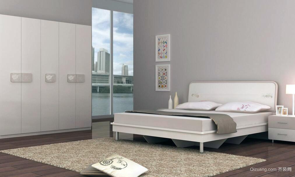 2016小户型北欧风格卧室装修效果图实例