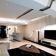 2016现代经典的单身公寓室内装修效果图