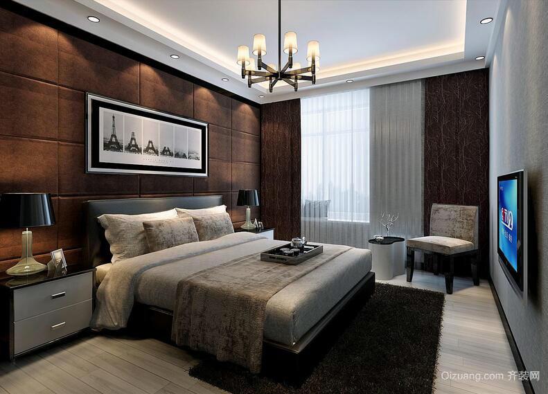 大户型后现代装修风格卧室装修效果图实例
