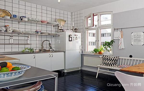 40平米现代主义风格小户型厨房装修效果图