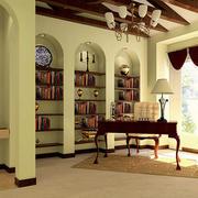 书房背景墙装修