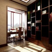 中式书房设计图