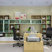 小清新书房装修效果图