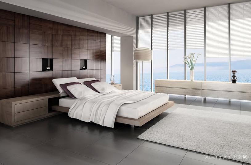 自建别墅现代都市精致卧室装修效果图