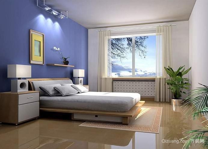 三居室精致简约卧室装修借鉴图
