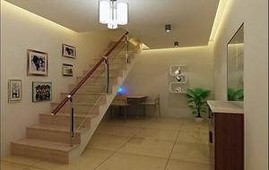 2016欧式风格复式楼楼梯装修效果图欣赏