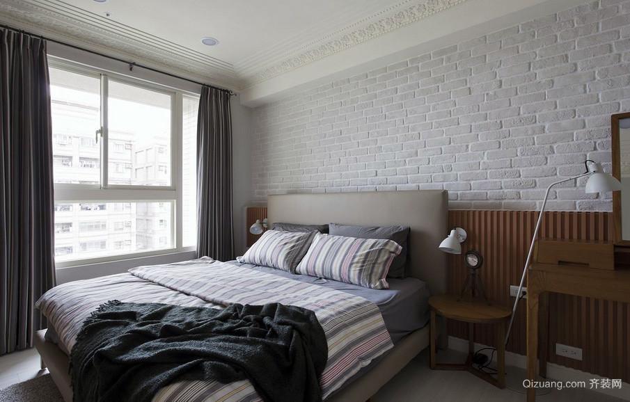 现代简约又不失时尚的卧室装修效果图