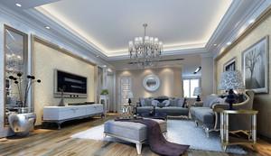别墅复式小楼欧式欧式客厅装修效果图