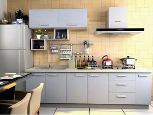 2016现代大户型厨房欧派橱柜装修效果图鉴赏