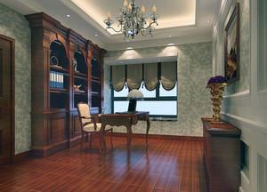 别墅型现代主义装修风格书房装修效果图欣赏