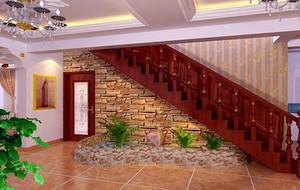 2016别墅型欧式风格室内楼梯装修效果图