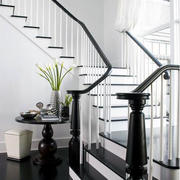 室内楼梯扶手设计