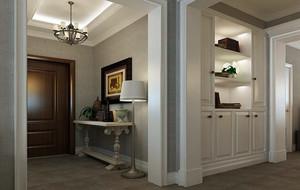 精美的别墅欧式进门室内玄关装修效果图