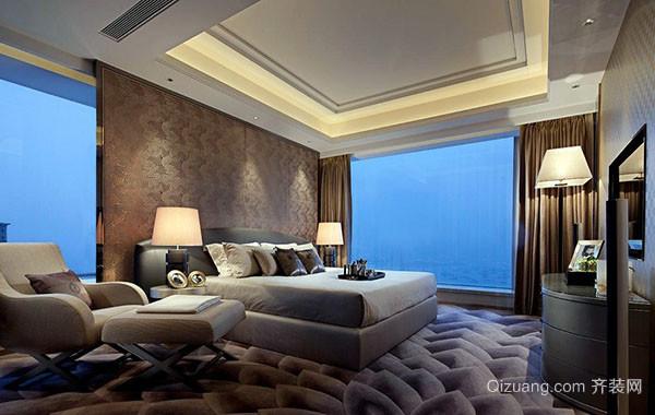 2016现代简约时尚卧室装修效果图