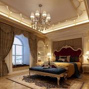 时尚卧室窗帘设计