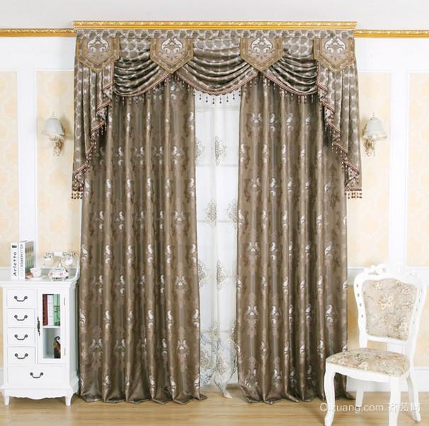 现代田园风格时尚窗帘装修效果图