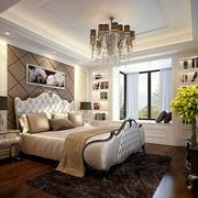 简约时尚卧室整体图