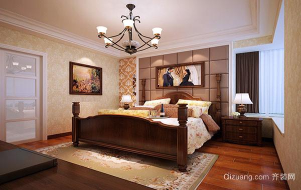 超乎想象的时尚精致卧室吊灯装修效果图实例