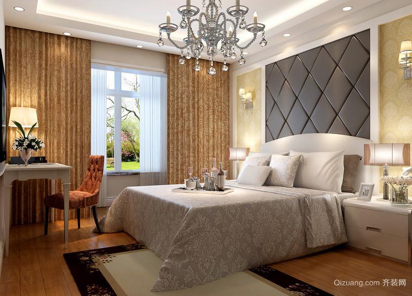 2016年精美时尚卧室吊灯装修效果图