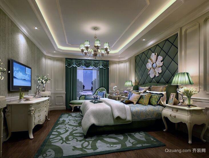 70平米小户型简单现代卧室设计装修效果图
