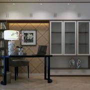 大户型精致的室内书房设计装修效果图