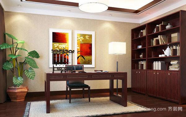 时尚大气奢华中式书房装修效果图赏析