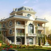 唯美别墅效果图
