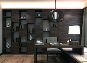 2016小户型现代榻榻米书房室内吊顶装修效果图