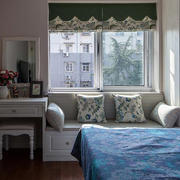 时尚卧室飘窗装修效果图