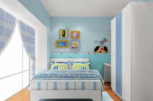小朋友都想拥有的卡通儿童房装修效果图