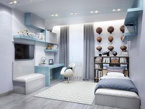 时尚单身公寓卧室装修效果图