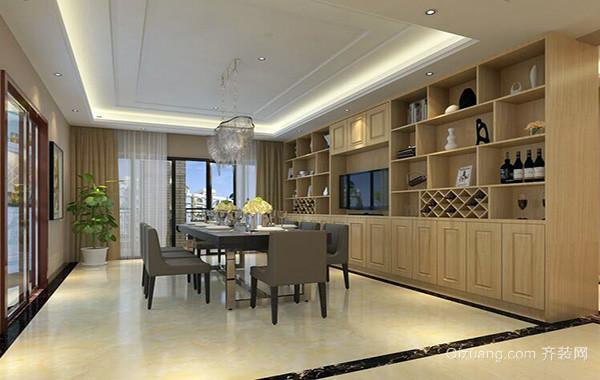 2016现代小户型家装欧式酒柜装修效果图