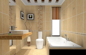 欧式40平米小户型卫生间吊顶装修效果图