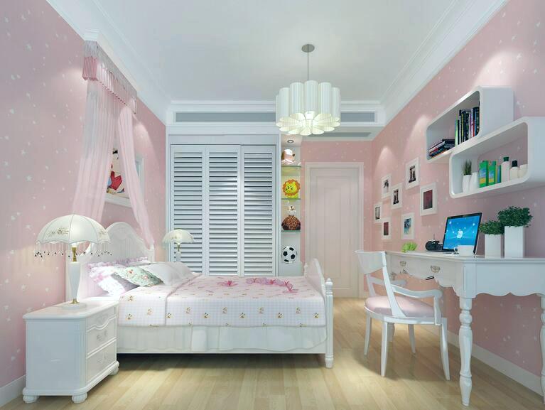 轻快儿童房设计