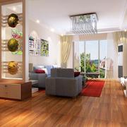 小清新客厅装修效果图