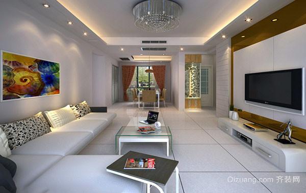 时尚现代客厅装修效果图赏析