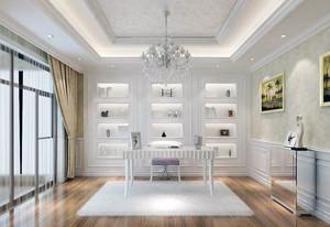 现代大户型欧式书房装修效果图鉴赏
