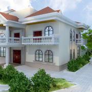 时尚自建别墅设计图