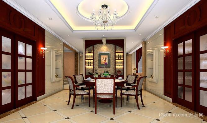 120平米中式风格客厅装修效果图