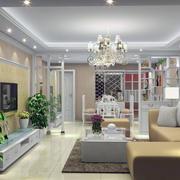 2016都市精美的大户型客厅室内装修效果图