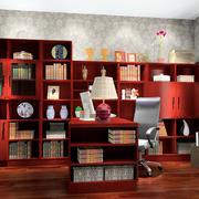 现代中式书房装修图
