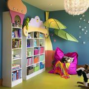 可爱书房装修效果图
