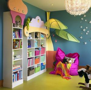 简约风格儿童书房装修效果图