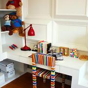 可爱儿童书房装修图
