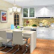 时尚小厨房效果图