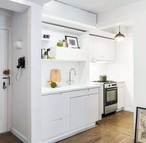 10平米精致时尚小厨房装修效果图
